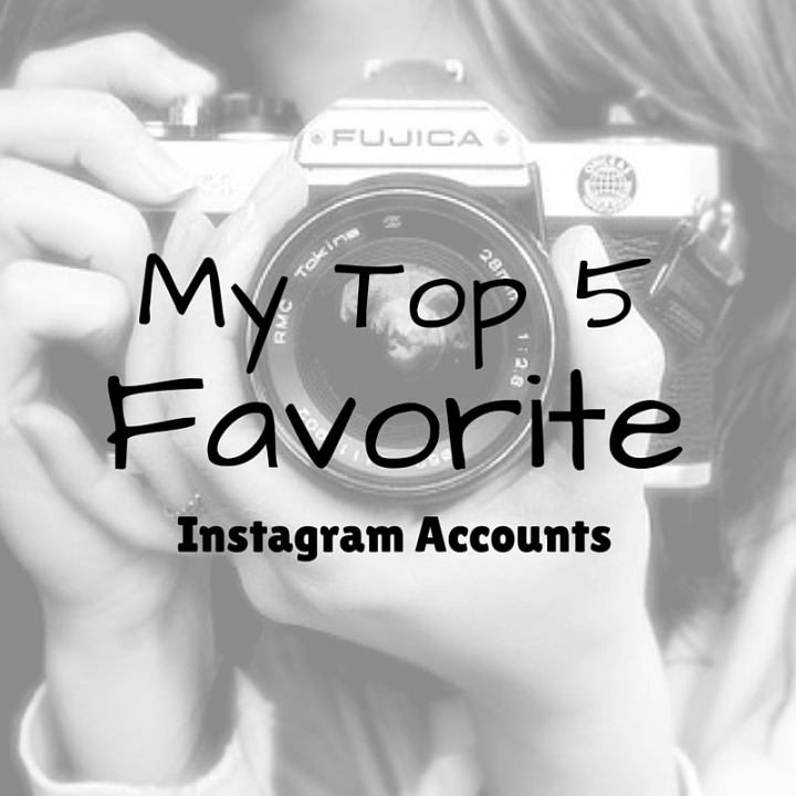 My Top 5 Favorite Accounts On Instagram